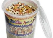 Мек снакс Antos Mini Mix  – 500гр – пиле, агне, сьомга