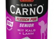 GranCarno® Senior – телешко + агне – 400 гр. ID номер – 090445