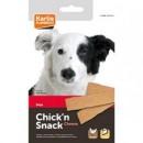 Лакомство за куче Chick'n Snack – мек снакс ленти пилешко и сирене – 85 гр