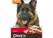 Лакомство за куче Chick'n Snack – сандвич с пиле и риба треска – 85 гр