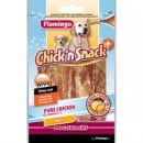 Flamingo Chick'n snack – пилешко филе с добавки за красива козина -85 gr.