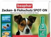Беафар Био спот он куче дребни/средни породи до 15 кг   – 3 пипетки по 2 мл (общо 6 мл)ID: 100124