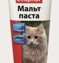 Малцова паста 25gr. с важните за козината Omega 3 & Omega 6. ID- 1102151