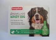 Беафар Био спот он куче едри породи –  3 пипетки по 2 мл (общо 6 мл)ID: 100125