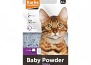 Кот. тоалетна от премиум силикагел – бебешка пудра – 2.5кг / 5 л. ID: 060274
