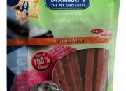 Filet Strips – меки ленти с агне шко месо 80 гр/pre biotik/