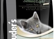 dr.clauder Super Premium Cat Senior/Light Sterilized – суха храна за възрастни, кастрирани или котки с наднормено тегло -400gr.