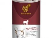 Консерва EQUILIBRIA за кучета с агнешко месо 410 gr