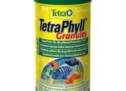 TetraPhyll Granules Храна за тревопасни тропически рибки гранули 250мл.