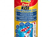 TetraPond KOI Colour & Growth Sticks Пръчици за риби КОИ за растеж и наситен цвят 1л.