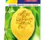 Лимоново минерално камъче, предназначено за канарчета и вълнисти папагалчета. Артикул No: 9586