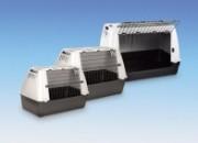 Транспортна клетка Skudo Car 90 сива 89 x 51 x 60 см. Продукт – 72137