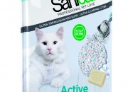 Sanicat Active – антибактериална бентонитова котешка тоалетна с активен кислород 10 лит. Код803667