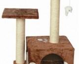 Скрачер с къщичка+2 стълба+мишка 43*33*70 см. Продукт – TM-9203.