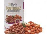 Brit Super Premium Boutiques Gourmandes – Хапки в пастет със сьомга – 400 gr.