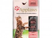 Applaws Cat Adult Chicken with Extra Salmon – с пилешко месо и сьомга за котки над 12 месечна възраст – 400 gr.