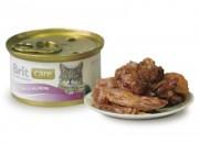 Brit Tuna Salmon – с месо от риба тон и сьомга –  80 гр.
