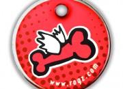 D Flying Bone:адресник  Small –  27мм. Код- ID27-D