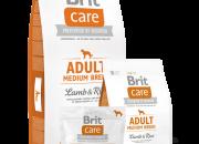 Brit Care Adult Medium Breed Lamb & Rice-за израснали кучета от средни породи -1kg.