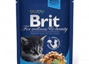 Brit Premium Kitten Cat – пауч с пиле за малки котенца –  100 гр.