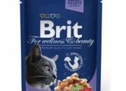 Brit Premium Adult Cat – пауч с риба треска -100 гр.