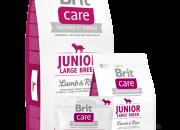 Brit Care Junior Large Breed Lamb & Rice –  за малки кученца от едри породи -3kg.