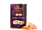 Nuevo – Пиле и скариди за котки  – 400 гр. Код: 849800871