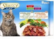stuzzy cat пауч за  Кастрирани котки с  пиле, пуйка  – 4*100гр. Код: C2492