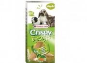 Crispy Biscuit Small Animals Vegetables-кексчета за гризачи със зеленчуци и яйцa – 70 гр. (6 бр.)