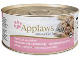 applaws месни хапки с филе от риба тон и скариди в бульон – 156 гр. код – 2008се-а