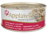 applaws месни хапки с пилешко и пуешко месо в бульон – 70 гр. код – 1025се-а