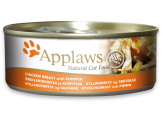 applaws месни хапки с пилешки гърди и тиква в бульон – 70 гр. код – 1010се-а