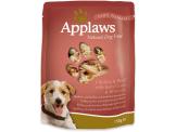 applaws пауч за куче с пилешко , телешко и броколи – 150 гр.  код – 9002се-а