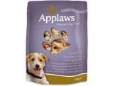 applaws пауч за куче пилешко месо в женшен – 150 гр.  код – 9001се-а