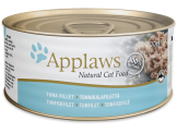 applaws месни хапки с риба тон и водорасли  в бульон – 156 гр. код – 2009се-а