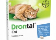 Bayer Drontal Cat – обезпаразитяващи таблетки за котки – 2 таблетки