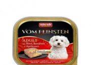 Пастет за кучета Vom Feinsten 2 в 1 гов.,яйца и шунка – 150гр.  ID номер 0904106