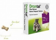 Bayer Drontal Plus – обезпаразитяващи таблетки 1 брой /таблетка/