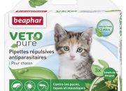 Beaphar Bio Sopt On Kitten – репелентни капки за малки котета Съдържа 3 пипети от 0.4 мл   – ID 100212