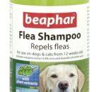 Репелентен шампоан Beaphar Flea Shampoo с маргоза и лавандула, 250 мл – ID 1003511