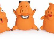 Играчка латекс FUNNY PIG(1бр.)   – 10 см. Артикул No: AH202/E