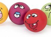 """Латексово топче с пищялка """"ExpressionBall"""" 6 см.(1 бр.)Артикул No: AH209/Q"""