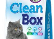 CLEAN BOX Super Premium лавандула, постелка за котешка тоалетна, фин бял бентонит, 5 лID- 0602846