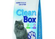 CLEAN BOX Super Premium натурал, постелка за котешка тоалетна, фин бял бентонит, 5 л.ID-0602845